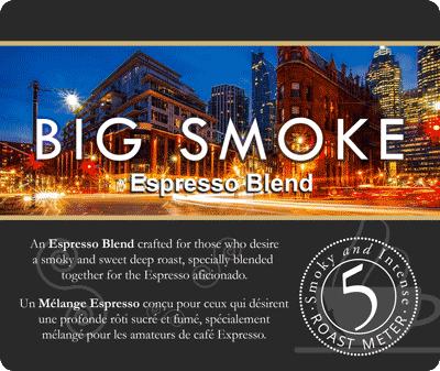 Muldoons Coffee Big Smoke Espresso Blend