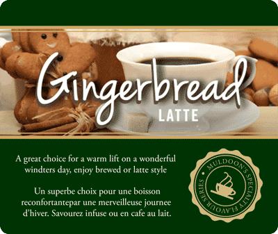 Muldoons Coffee Gingerbread Blend