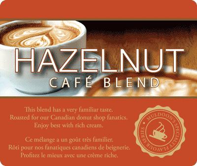 Muldoons Coffee Hazelnut Blend