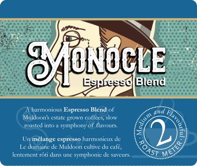 Muldoons Coffee Monocle Blend