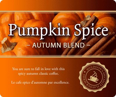 Muldoons Coffee Pumpkin Spice Blend