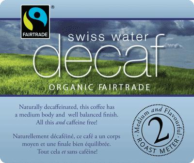 Muldoons Coffee Swiss Water Decaf Blend